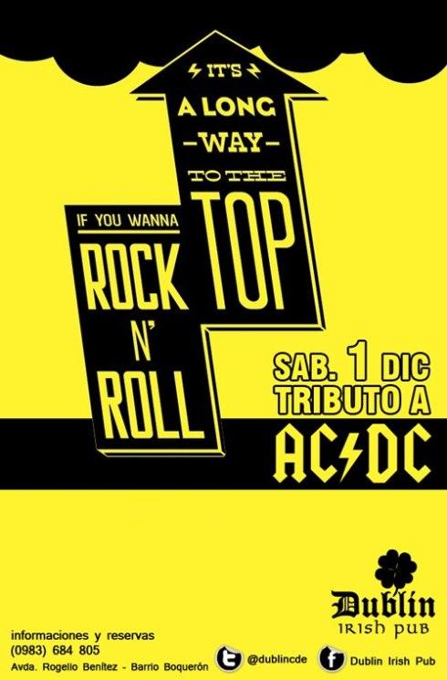 Tributo a AC/DC en Dublin Irish Pub