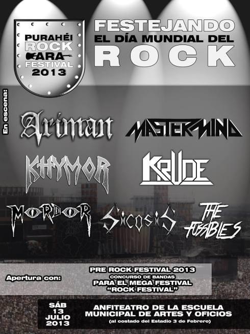 Día mundial del Rock en Ciudad del Este