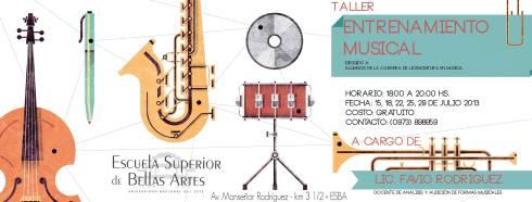 Interesante propuesta de la Escuela Superior de Bellas Artes