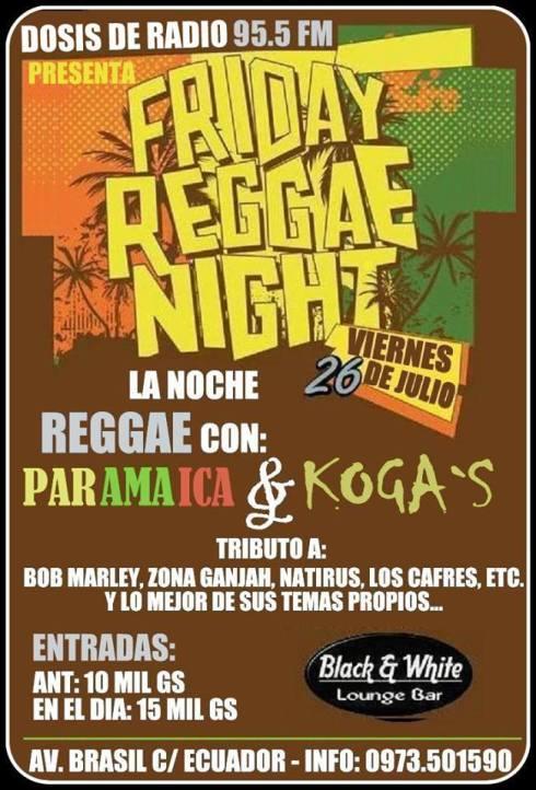 Reggae en Hernandarias