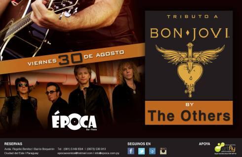 Te quedaste con ganas de Bon Jovi, Época te saca las ganas.