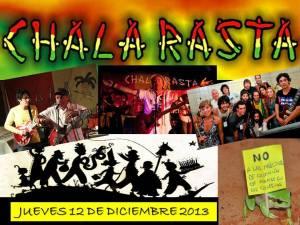 Para seguir a los Chala Rasta: www.chalarastareggae.com