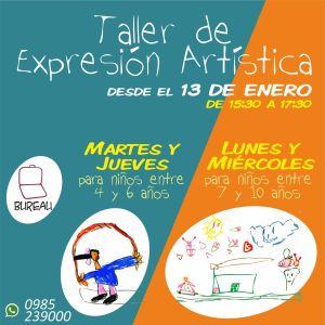 Flyer 2 - Taller de Expresión Artistica