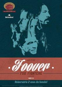 Foover es una cover band de Foo Fighters y celebra 2 años en escena