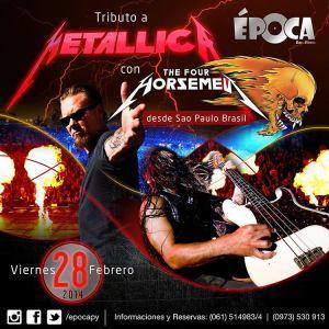 El mejor tributo a Metallica según muchos