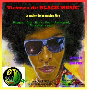 Black Music y Pizzas en Ital Pizzas Reggae Bar