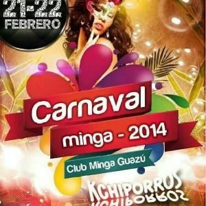 El Carnaval Minguero es el más tradicional de la región.