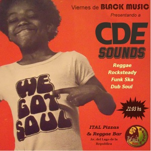 CDE SOUNDS se presenta en Ital Pizza.