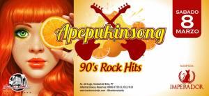 Los 90s con APEPUKINSON en Bar do Meio