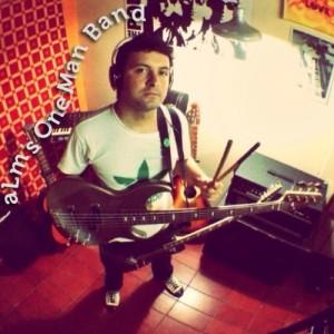 ALM´s one man band es el proyecto solista del bajista Andrés Martínez, podés escuchar sus temas acá https://soundcloud.com/almomb