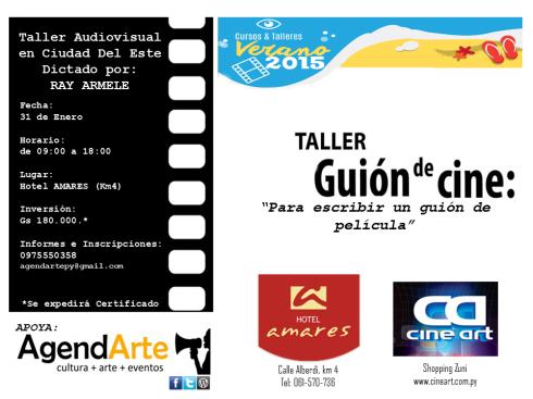 afiche taller guion cde2